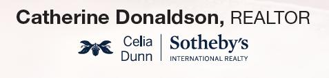 Catherine Donaldson Realtor Sponsor